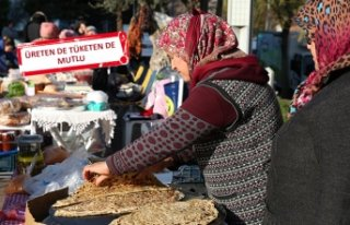 Üretici ve tüketici Buca'da buluştu