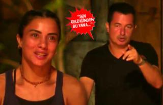 Survivor 2019'da Acun Ilıcalı'dan Sabriye...