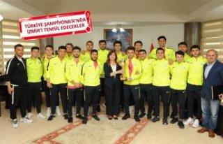Balçova'nın gençleri Türkiye finallerinde!