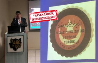 Emin Elmacı, İzmir Türk Ocağı'nda İzmir'in...