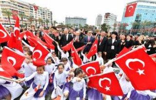 İzmir'de 23 Nisan coşkusu: 99 yıllık gurur