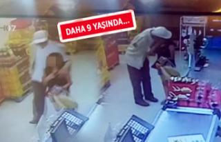 Ankara'da bir markette iğrenç olay!