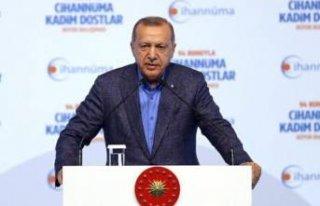 Erdoğan'dan İmamoğlu'na tepki