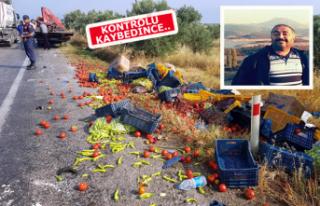 İzmir'de feci kaza: Baba öldü,oğlu ağır...
