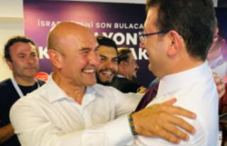 Sonuçların ardından Tunç Soyer ve Ekrem İmamoğlu'nun...