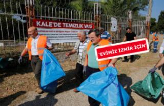 Temiz İzmir için iki başkan el ele