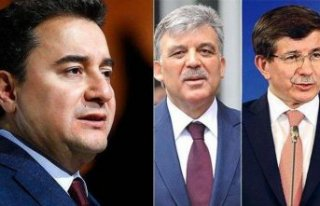 AK Parti'de ipler tamamen koptu! Gül, Babacan...