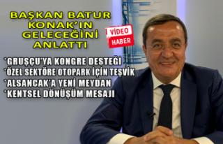 Başkan Abdül Batur, Konak'ta yapacaklarını...
