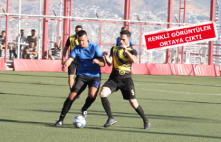 Bayraklı'da başkanlık futbol turnuvası başladı