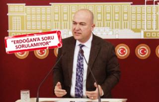 CHP'li Bakan'dan 'soru' eleştirisi