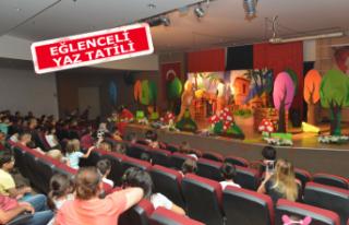 Çiğli'de çocuklara tiyatro