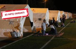 Denizli'de 'deprem' paniği: Geceyi...