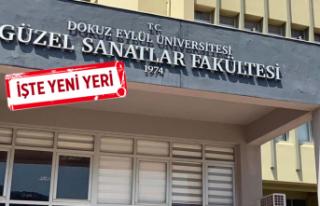 DEÜ Güzel Sanatlar Fakültesi'nin yeri için...