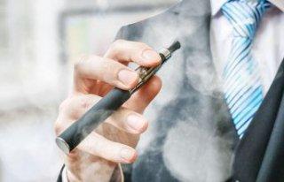 E-sigara alarmı!