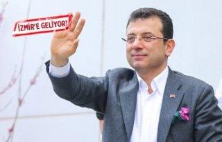 Ekrem İmamoğlu İzmir'e geliyor!