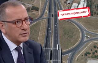 Fatih Altaylı'dan İstanbul-İzmir Otoyolu yorumu
