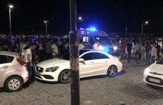 Gündoğdu Meydanı'nda silahlı kavga: Yaralılar...
