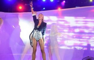 Ivana Sert 15 bin kişiye konser verdi
