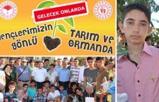 İzmir'de gençlere tarımda farkındalık eğitimleri