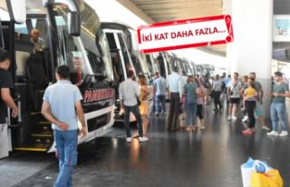 İzmir Otogarı'ndan ek 'bayram' seferi