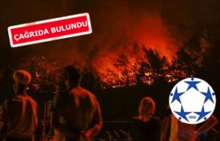 İZVAK'tan yangın açıklaması