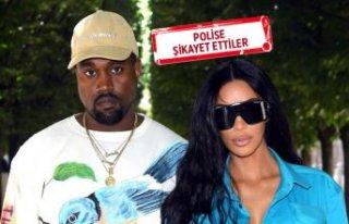 Komşuları Kanye West ve Kim Kardashian'ı şikayet...