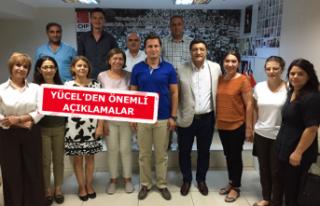 Kongre süreci öncesi CHP Buca'dan Yücel'e...