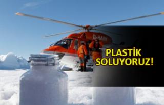 Kuzey Kutbu'nda gökten plastik yağıyor