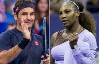 Serena Williams ve Roger Federer ikinci tura yükseldi