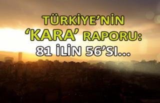 Türkiye'nin 'kara' raporu: 81 ilin...