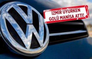 Volkswagen fabrikası için ibre tamamen Manisa'ya...