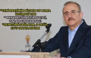 AK Partili Sürekli'den mesaj yağmuru