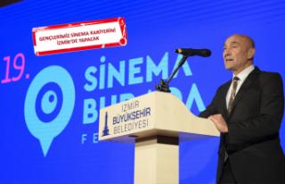 """Başkan Soyer'den """"Sinema İzmir"""" müjdesi"""