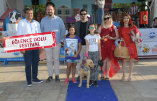 Çiğli'de can dostlar festivalde buluştu