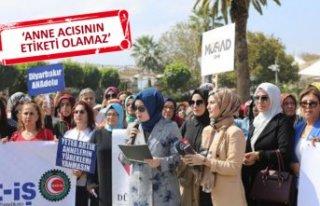 Diyarbakırlı annelere İzmir'den destek