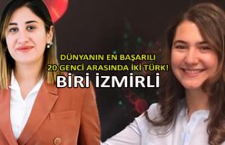 Dünyanın en başarılı 20 genci arasında iki Türk!