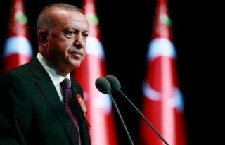 Erdoğan'dan eğitime destek ve reform mesajı