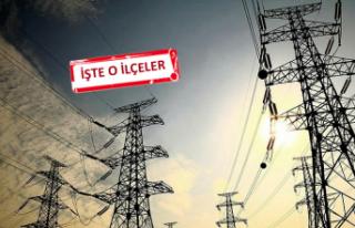 İzmir'de 19 ilçede elektrik kesintisi!