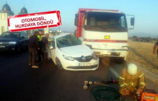 İzmir'de feci kaza: Dede öldü, torunları...
