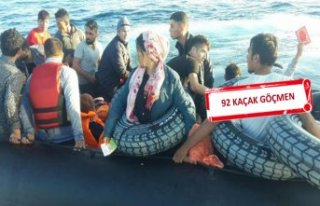 İzmir'de kaçak göçmenler yakalandı