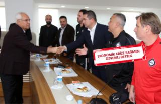 Karabağlar'dan 26 spor kulübüne 10'ar bin...
