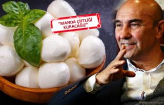 Soyer müjdeledi: İzmir Mozzarellası'nı çıkaracağız