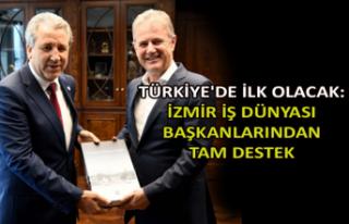 Türkiye'de ilk olacak: İzmir iş dünyası...
