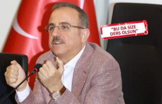 AK Partili Sürekli o belediyeleri örnek gösterdi