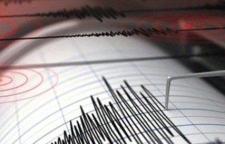Aliağa'da 3.5 büyüklüğünde deprem