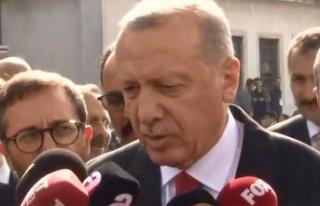Cumhurbaşkanı Erdoğan'dan anlaşma sonrası...