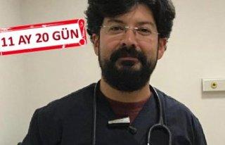 Doktora küfre, hapis cezası