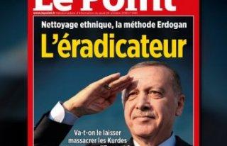 Erdoğan'dan Fransız dergi için suç duyurusu