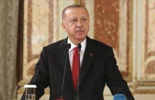 Erdoğan: Mücadelemiz Kürtlerle değil, terör örgütleriyle!