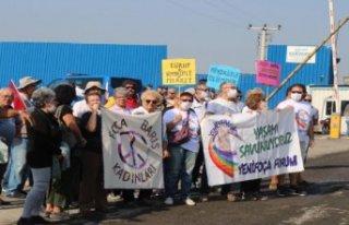Foça'da Biyokütle Enerji Üretim Tesisi isyanı